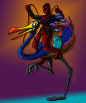 Snipe rider by DitaDiPolvere