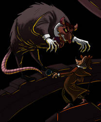 The Great Mouse Detective by DitaDiPolvere