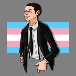 Pride Month Fanart: Theo Putnam