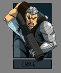 Six fanarts. Cable. by DitaDiPolvere