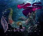 Mermaid cuddles 6 by DitaDiPolvere
