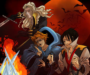 Castlevania trio