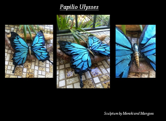 Papilio Ulysses Butterfly by TheMidnightParade