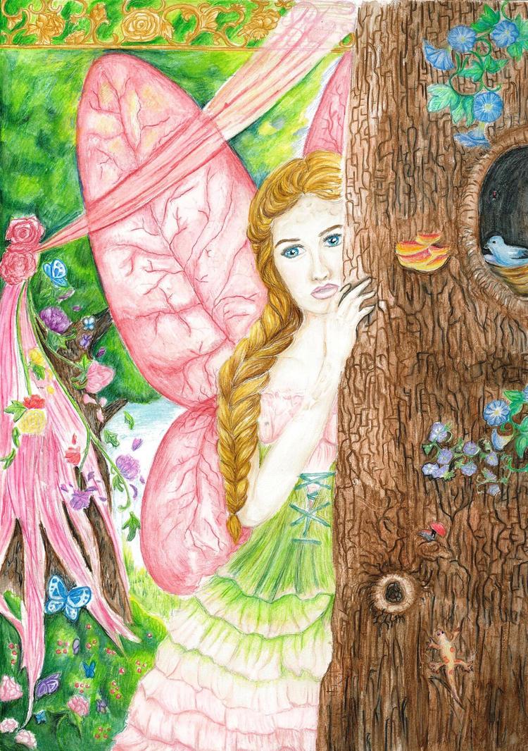 Peony Fairy by TheMidnightParade