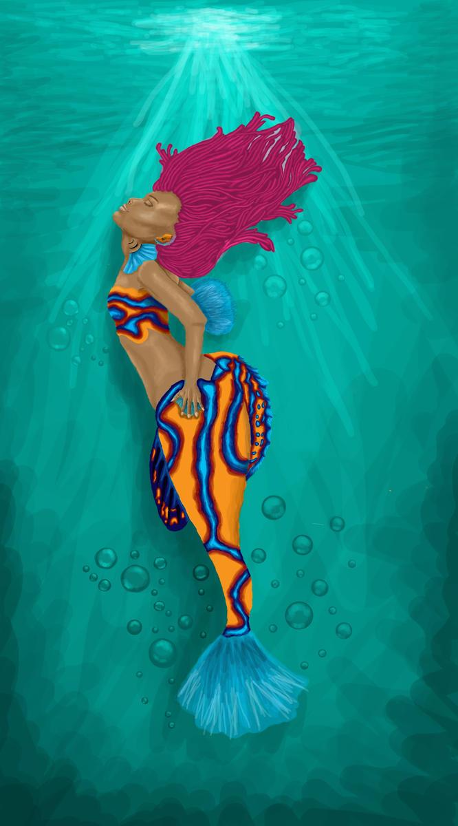 Mandarin Fish Mermaid by TheMidnightParade