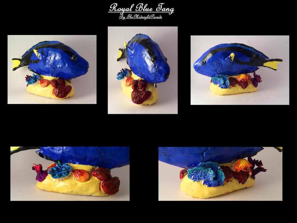 Royal Blue Tang by TheMidnightParade