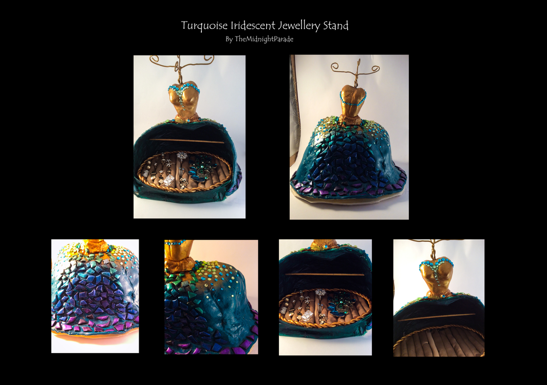 Turquoise Jewellery Stand by TheMidnightParade
