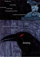 The Raven - 1 of 3 by Lady-Bealzabub