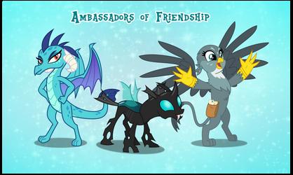 Equestria Friendship Ambassadors by AndoAnimalia