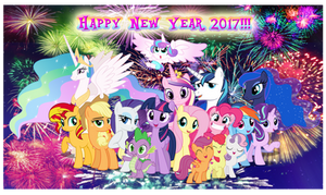 Happy New Year 2017!!! by AndoAnimalia
