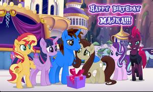 Gift: Happy Birthday, Majka!!!