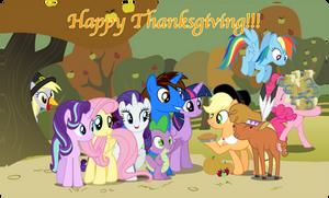 Happy Thanksgiving!!! by AndoAnimalia