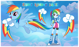Rainbow Dash Day by AndoAnimalia
