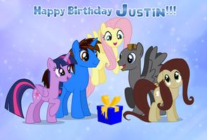 Gift: Happy Birthday ShutterflyEQD!!! by AndoAnimalia