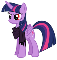 Dark Water Twilight Sparkle by AndoAnimalia