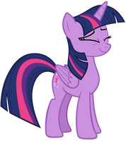 Twilight Sparkle Amused Sweetly by AndoAnimalia