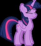 Twilight Sparkle Amused Sweetly