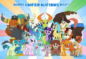 United Nations Day by AndoAnimalia