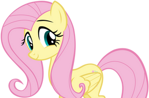 Fluttershy Smiling Affectionately by AndoAnimalia