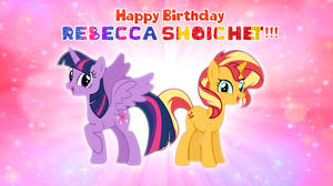 Happy Birthday Rebecca Shoichet 2019 by AndoAnimalia