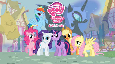 My Little Pony: Friendship is Magic Season 1 by AndoAnimalia
