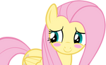 Fluttershy Blushing Cutely