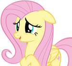 Fluttershy Suggesting Sheepishly