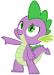 Spike with Whatever Item You Ask For by AndoAnimalia