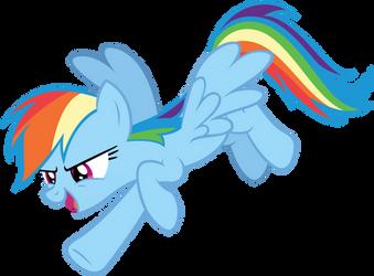 Rainbow Dash - Gotcha! by AndoAnimalia