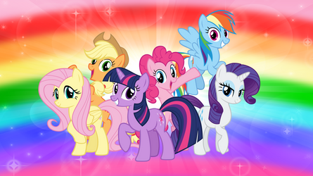 The Mane Six by AndoAnimalia