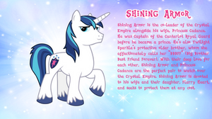Shining Armor Bio