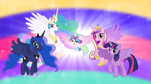 The Five Pony Princesses