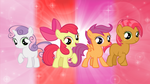 The Cutie Mark Crusaders and Babs Seed by AndoAnimalia