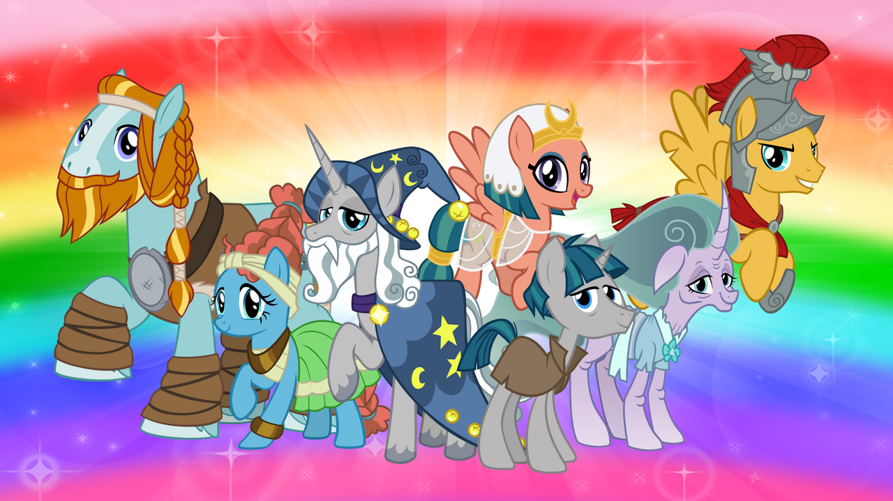 The Pillars of Equestria and their Founder