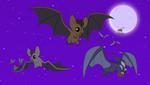 Equestrian Bats Hunting by AndoAnimalia