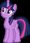 Twilight Sparkle Blushing Playfully
