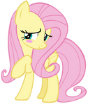 Fluttershy Blushing with Embarrassment by AndoAnimalia