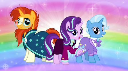 Starlight Glimmer and Friends in the Future