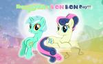 Lyra and Bon Bon Day 2020 by AndoAnimalia