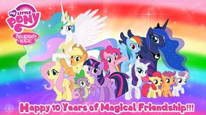 My Little Pony 10th Anniversary 1