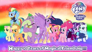 My Little Pony 10th Anniversary 3