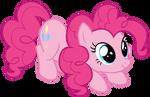 Pinkie Pie Sitting Cutely by AndoAnimalia