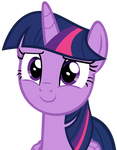 Twilight Sparkle Smiling with Hope