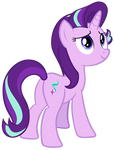 Starlight Glimmer looking up by AndoAnimalia