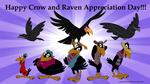 Crow and Raven Appreciation Day 2021 by AndoAnimalia