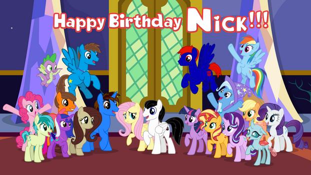 Gift: Happy Birthday FluttershyFan1997 2021