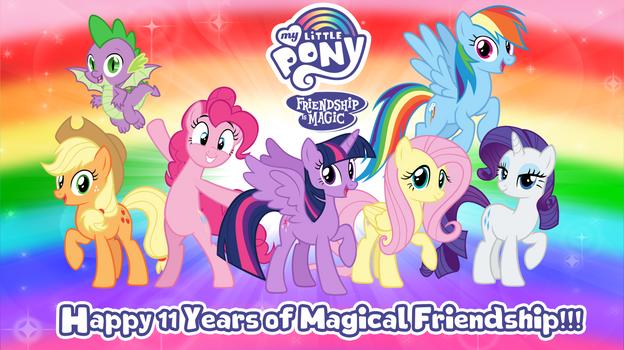 My Little Pony 11th Anniversary