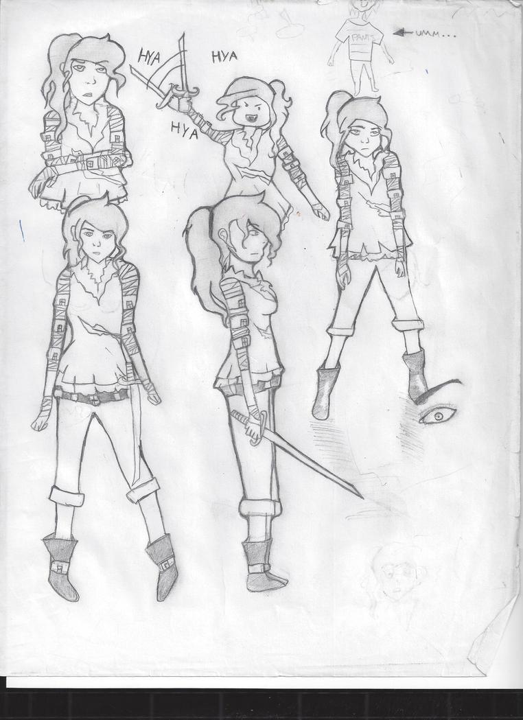 Doodles... by kingVhunter