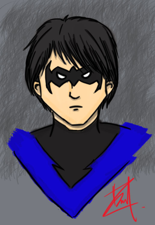 Nightwing 'Dick Grayson' by DanicaGraciella