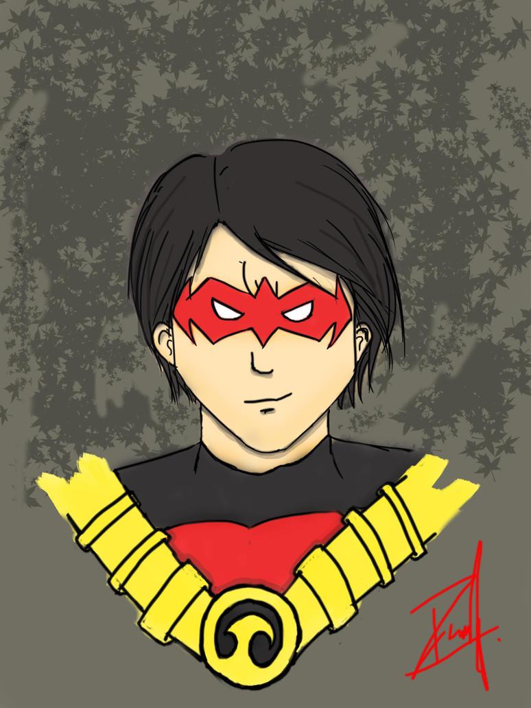 Red-Robin Tim-Drake by DanicaGraciella